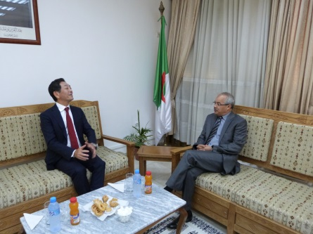 Ambassade du japon en algerie for Chambre de commerce tizi ouzou